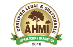 Certified Legal & Sustainable Appalachian Hardwood 2018