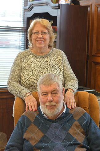 Jim and Helen Tanner